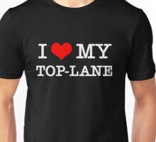 I Love My TOP-LANE  [Black] Unisex T-Shirt