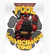 Teenage Mutant Ninja Pool! Poster
