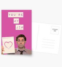 You're my Jim Postcards