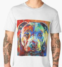 Stafforshire Bull Terrier Men's Premium T-Shirt