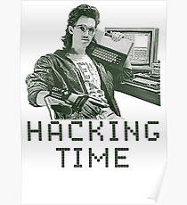 Hacking time Poster