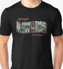 Greetings from Hawkins, Indiana Unisex T-Shirt
