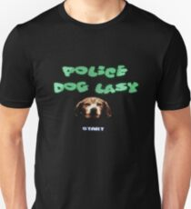 Police Dog Lasy T-Shirt