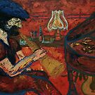 Spike on Saxophone by Naomi Downie
