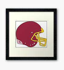 Football Helmet  Framed Print