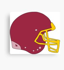 Football Helmet  Canvas Print