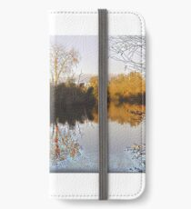 Aquadrome in Autumn iPhone Wallet/Case/Skin