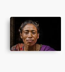 Local Woman Canvas Print
