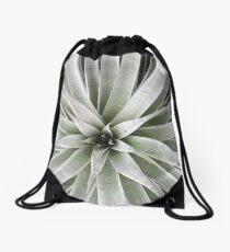 Silver Star Bromeliad Drawstring Bag