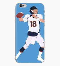 Peyton Manning Throwing Football iPhone Case