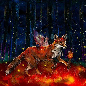 The Origin Of Fire by f-rizzato-art