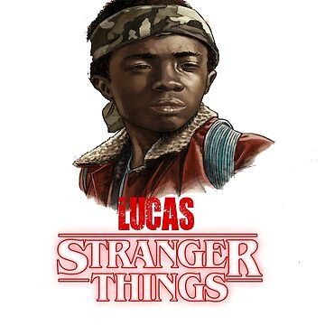 Stranger Things Lucas by Nazyl