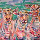 The Colour Runners by TraceyMackieArt
