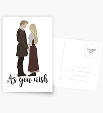Princess Bride - As You Wish Postcards
