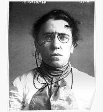 Emma Goldman Mugshot Poster