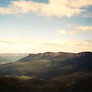 The Blue Mountains by Shaina Haynes