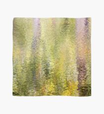 Natural Watercolor-  Impressionistic Nature Abstract 5 Scarf
