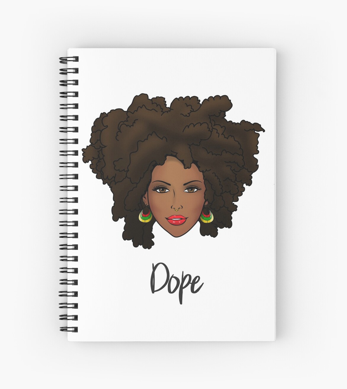 Dope Natural Hair Woman by mommiegoddess