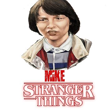 Stranger Things Mike by Nazyl