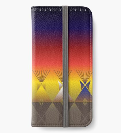 Night Tipi iPhone Wallet