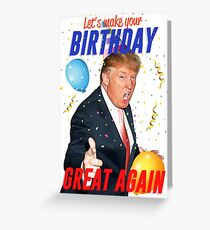 Donald Trump Greeting Cards