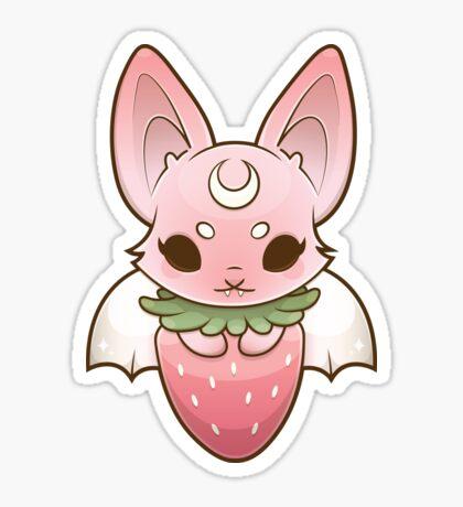 Fruit Bat - PINK♡ Sticker