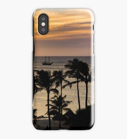 Aruba Sunset 2 iPhone Case