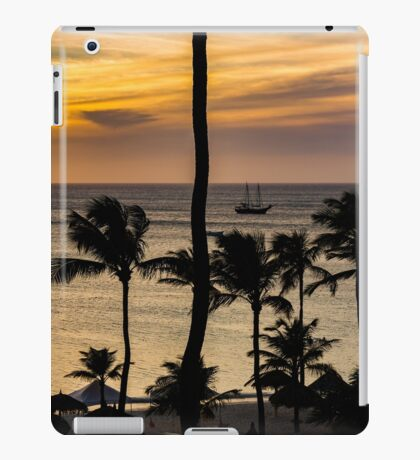 Aruba Sunset 2 iPad Case/Skin