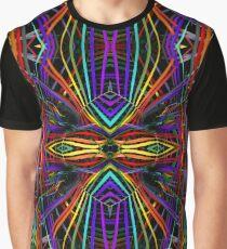 Rainbow Diamond X Graphic T-Shirt