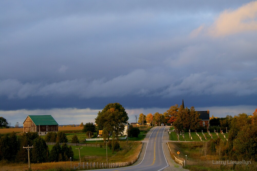 Fall brings weather.......Whether we want it or not!!!! by Larry Llewellyn