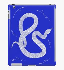 White Snake and Leaves  iPad Case/Skin