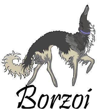 Chinchilla Borzoi by tcarey