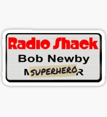"Bob Newby ""Superhero"" Sticker"