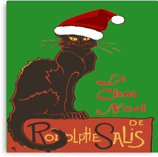 Le Chat Noel Christmas Parody Le Chat Noir by taiche