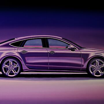 Audi RS7 2013 Painting by PaulMeijering