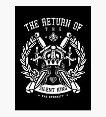 The Return Of The Silent King Photographic Print