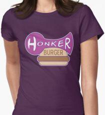 Honker Burger Women's Fitted T-Shirt