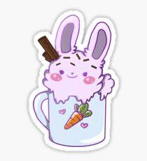 Bunny Dessert Sticker