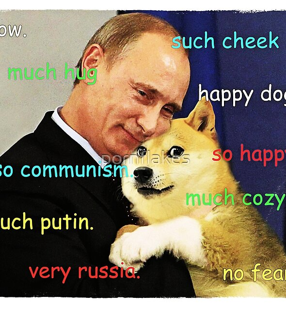 Putin doge by pornflakes