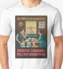 Vintage poster - Food Hoarding T-Shirt