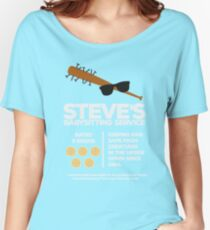 Steve's Babysitting Service Women's Relaxed Fit T-Shirt
