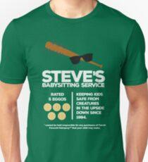Steve's Babysitting Service Unisex T-Shirt