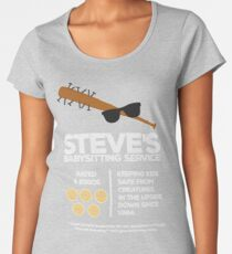 Steve's Babysitting Service Women's Premium T-Shirt