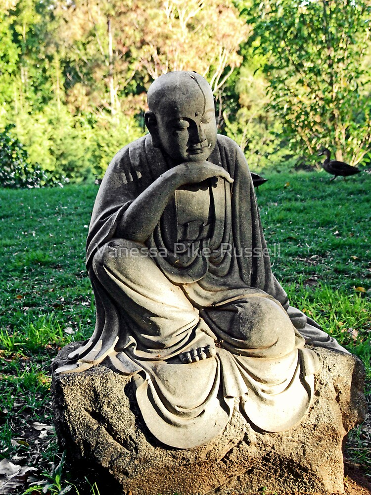 Nan Tien Buddhist Temple - Buddha Sculpture by Vanessa Pike-Russell