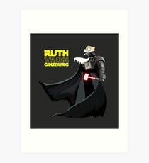 Ruth Vader Ginsburg Art Print