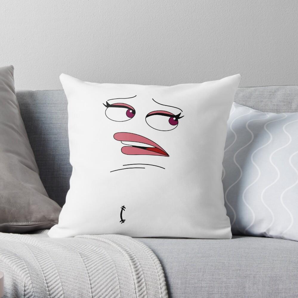 Almohada de Jay de boca grande Cojín