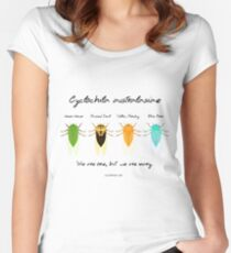 """""""We are one"""" - Cyclochila australasiae cicadas Women's Fitted Scoop T-Shirt"""