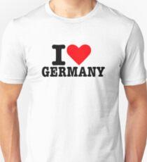 I love Germany Unisex T-Shirt