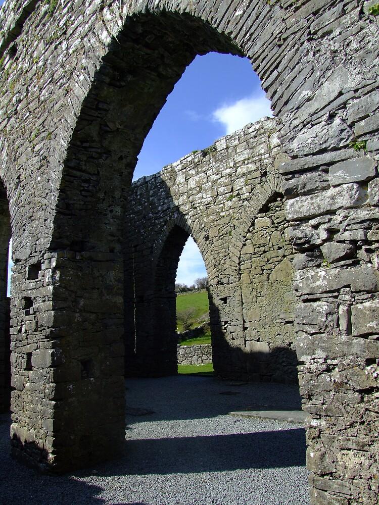 Corcomre Abbey by John Quinn