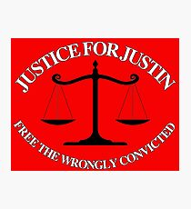 Justice For Justin #2 Photographic Print